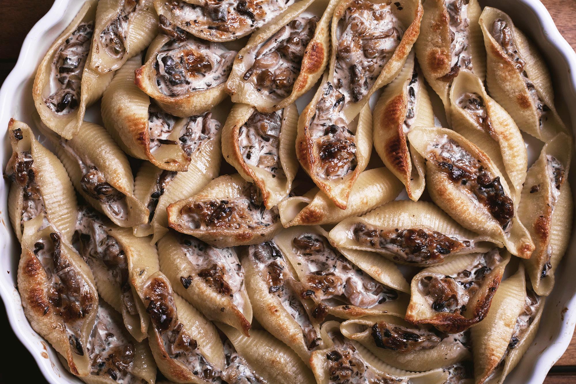 plats aux champignons