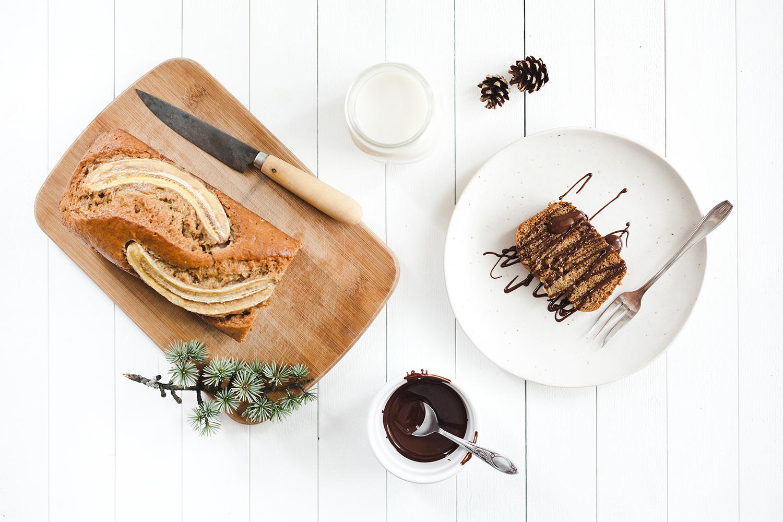 Banana bread la cannelle la tortue fringante le blog v gane - Gateau vegan inratable ...
