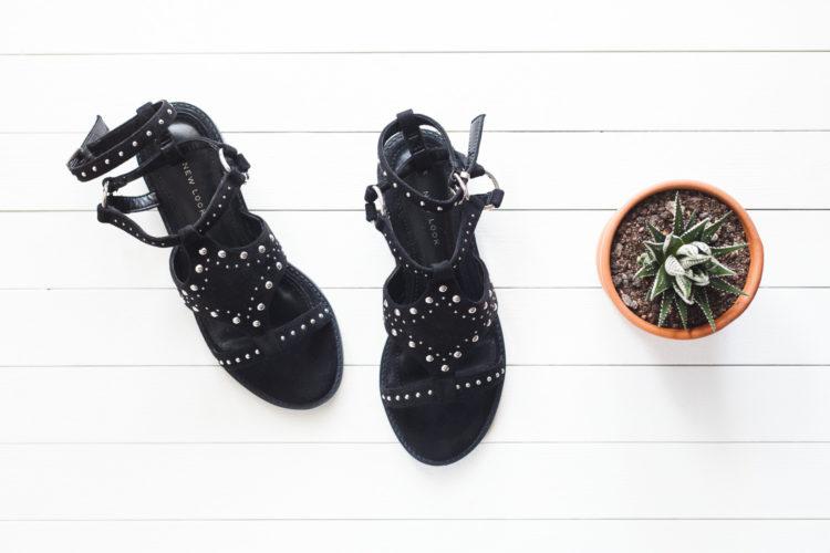 Sandales sans cuir New look
