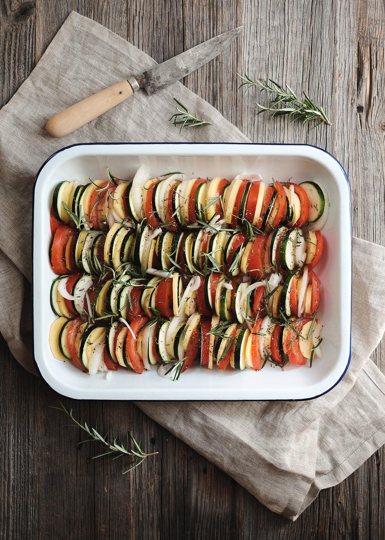 Tien de légumes vegan