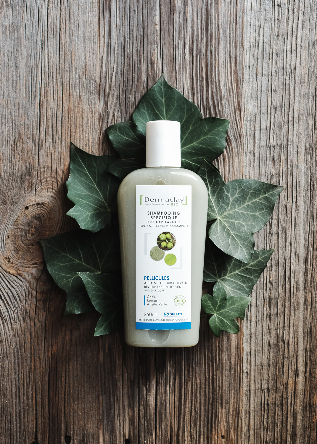 Shampoing antipelliculaire Dermaclay