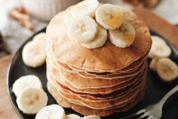 Tour de pancakes véganes