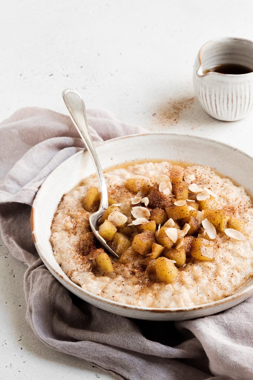 Porridge pomme-cannelle